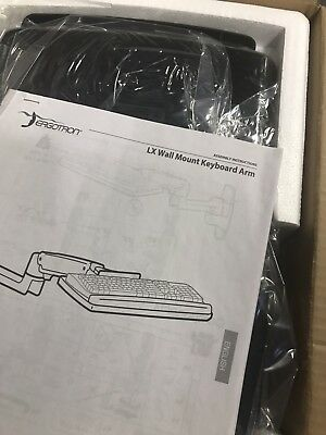 Ergotron Lx wall mount keyboard and mouse holder 45-246-026