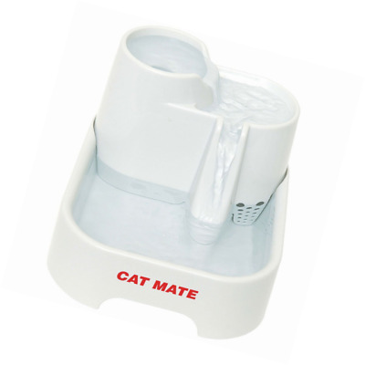 Cat Mate Pet Drinking Fountain For Dogs & Cats 70oz