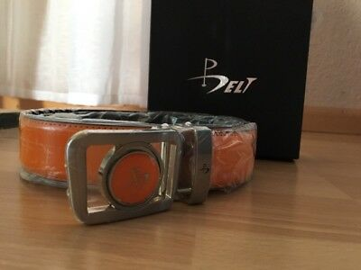 Damen Golf Gürtel BELT Orange Neu!!! Mit Golfball Marker