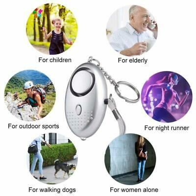 *Keyring *Police Approved Personal Panic Rape Attack Safety Security Alarm 140db