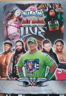 Topps Slam Attax Live Smackdown Live Base Cards number 146 - 197