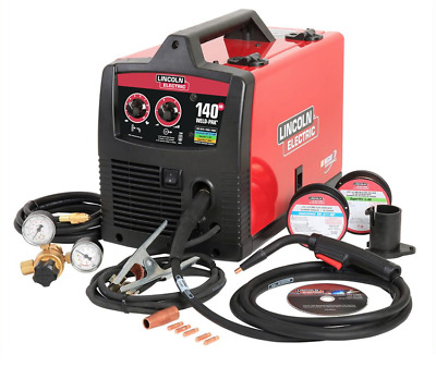 Lincoln electric welder 140 Amp wire feed 140 HD MIG Weld Pak, Steel, Contractor