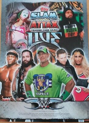 Topps Slam Attax Live NXT & 205 Base Cards number 198 - 255