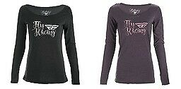 Fly Racing Women's Nomad Graphic Polyester/Cotton Long-Sleeve T-Shirt