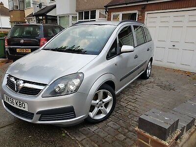 Vauxhall Zafira Life 1.9 CDTI 7 Seater Only 76K Cam belt Service History Air con