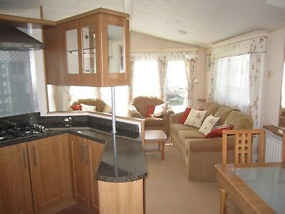 Willerby Winchester static caravan  on The Wold Caravan Park,Eastchurch,Kent