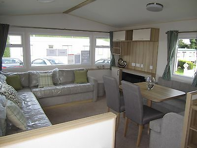 New ABI Static Caravan sited on The Wold Caravan Park,Eastchurch, Kent