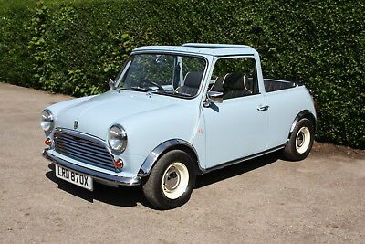 Stunning 1981 Austin Mini Special convertible