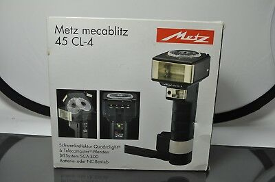 Metz Mecablits 45 CL-4 flash unit,with manual, in original box
