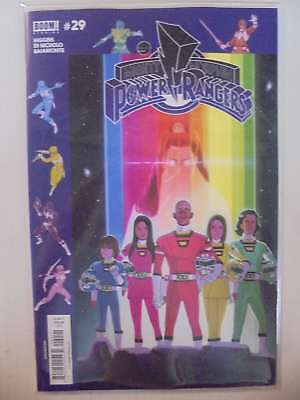 Mighty Morphin Power Rangers #29 Subscription Variant BOOM! NM Comics Book