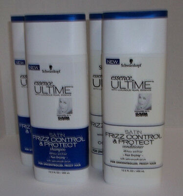 Schwarzkopf Essence Ultime Frizz Control & Protect Shampoo & Conditioner  2 Sets