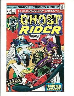 GHOST RIDER (Vol.1) # 13 (CENTS ISSUE, AUG 1975), VF
