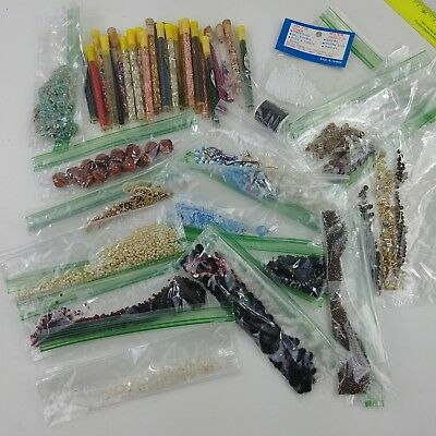 ed Lot of Vintage Jewelry Making Beads Estate Find Create Crafts