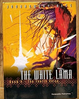 The White Lama: Book 4. The Fourth Voice. Jodorowsky & Bess. Humanoids