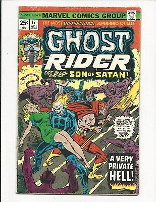GHOST RIDER (Vol.1) # 17 (CENTS ISSUE, APR 1976), VG