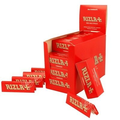 Rizla Red Standard Rizla Cigarette Rolling Papers 1, 5,10,20,50, 100 BOOKLETS