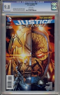Justice League 40 Volume 2 1St Appearance Of Grail Cgc 9.8