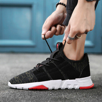 Mens Athletic Running Sports Casual Sneaker Shoes Trekking Hiking Breathable NEW