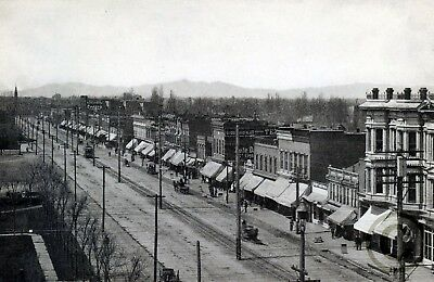 "Seventh Street/"" in 1901 Reprint Vintage Photography UTAH /""Twenty OGDEN"
