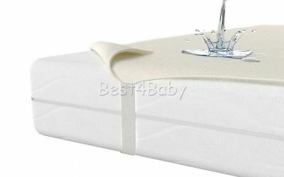 Waterproof Mattress Protector Cover- Cot 120x60- Cot Bed 140x70  In UK Stock