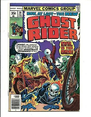 GHOST RIDER (Vol.1) # 28 (CENTS ISSUE, FEB 1978), FN+