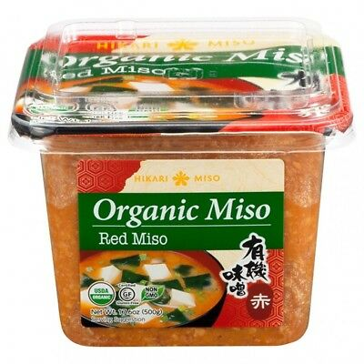 Organic Red Miso  500 g  HIKARI Rote Miso Paste Japan
