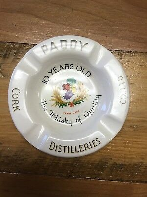 Vintage Paddy Old Irish Whiskey Cork Distilleries Arklow Pottery Ireland