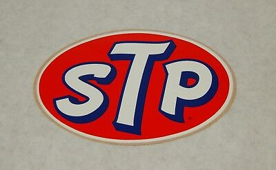 Vintage Original Stp Sticker Decal Auto Racing Hot Rod Muscle Car Nos 6""