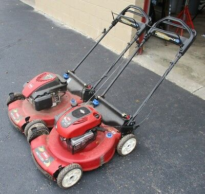 "(2) TORO LAWN MOWERS, 22"" Self Propel, 7 HP with Starting Issues - LOCAL PICKUP"