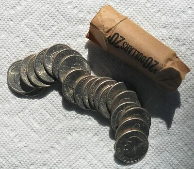 Roll of 20 Susan Anthony dollars