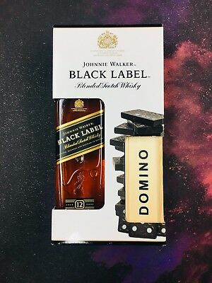 Collectible Johnnie Walker black label Domino Limited Edition 750ml