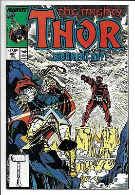 Marvel Comics, The Might Thor, Issue 387, 1987, Direct Edition, 9.6, Near Mint