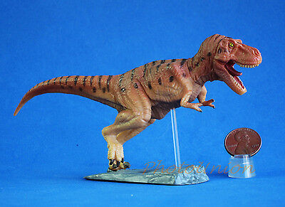 Jurassic Tyrannosaurus T-Rex Hunting Chase Park Figur Statue Modell DIORAMA A382