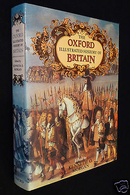 The Oxford Illustrated History Of Britain, 1984, HC, DJ, ed. by Kenneth Morgan