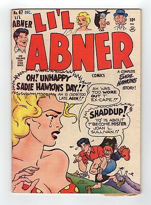 LI'L Abner #67 Harvey 1948 Golden Age Comic
