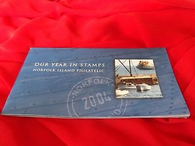 Our Year in Stamps Norfolk Island Philatelic 2004 collection of stamps