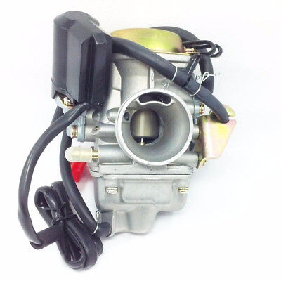 Hot Carburetor Carb W/Filter for Gy6 150cc Scooter Roketa SUNL Go-Kart GY6 PD24~