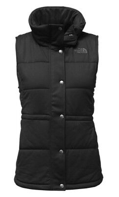 THE NORTH FACE Women's Pseudio Insulated Full Zip Vest Black NWT $99 Size Medium