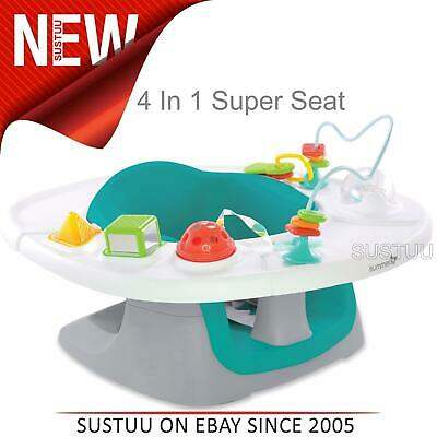 Summer Infant 4 In 1 Super Seat│Kids Floor Time Feeding & Activity Fun With Toy