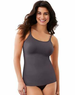Maidenform Long Tank Shapewear Dressing Fat Free Adjustable Straps Smoothing
