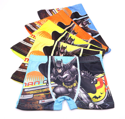 Kids Baby Boys children's cartoon Cotton Underwear Batman boxer briefs Wholesale