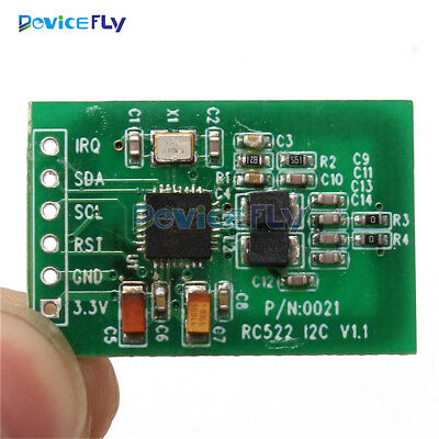 13.56MHz I2C SPI Interface IC RC522 RFID Read Write Card Module IC Keychain