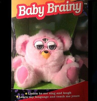 RARE! ~ Brainy Baby 1999 (FAKE) Furby ~ Collectors Quality, Mint in Box