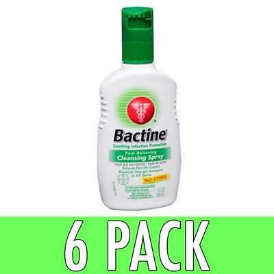 Bactine Pain Relieving Cleansing Spray, 5 oz, 6 Pack