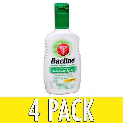 Bactine Pain Relieving Cleansing Spray, 5 oz, 4 Pack
