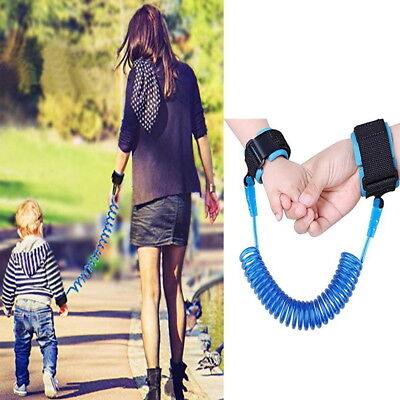 Child Kid Anti-lost Safety Leash Wrist Link Harness Strap Reins Traction Rope