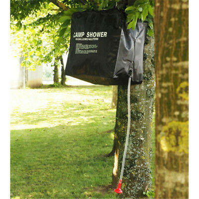 Solar Water 40L Heated Camping Hiking Washing Shower Camp Bag Portable Outdoor