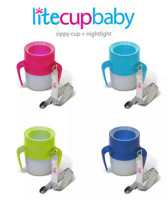 Baby Litecup NON Spill Sippy Cup Night Light Babies Toddlers Children Disability