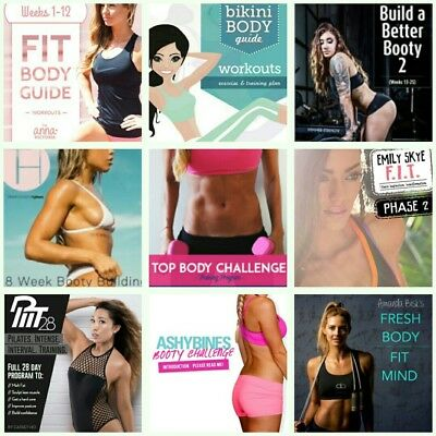 240 FITNESS GUIDE Anna Victoria Kayla Itsines Zoe Rodriguez Tammy Hembrow & MORE