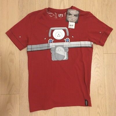 Uniqlo x Ghost in the Shell: ARISE T-Shirt - Logicoma (Red) - Men's Small - NWT
